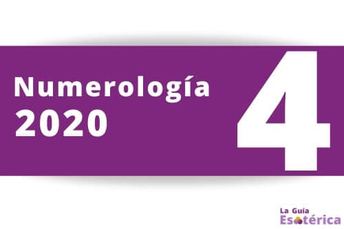 Numerologia 2020 numero 4
