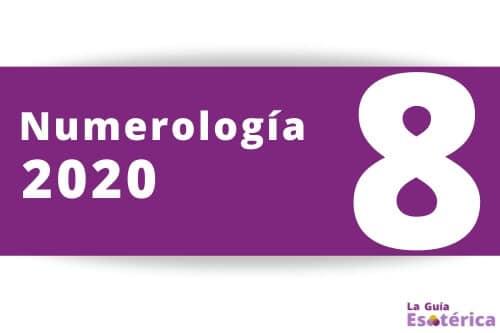 Numerologia 2020 numero 8