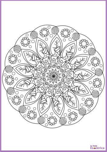 Flor de mandala 16