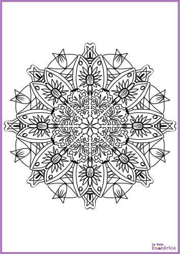 Mandala de flor 1
