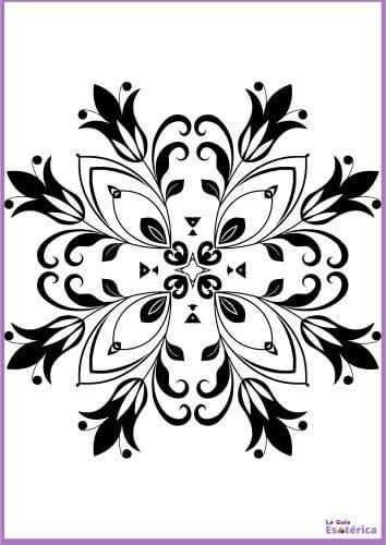Mandala de flor para imprimir 9