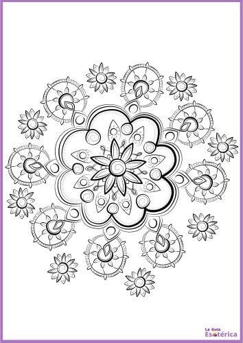Mandala de flores original 14