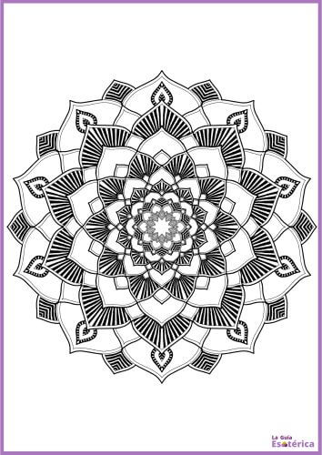 Mandala flor capas 22