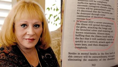 Sylvia Brown predicciones y profecias